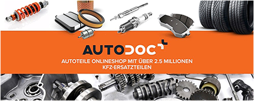 Sie können unsere Partner-Website autodoc.de besuchen